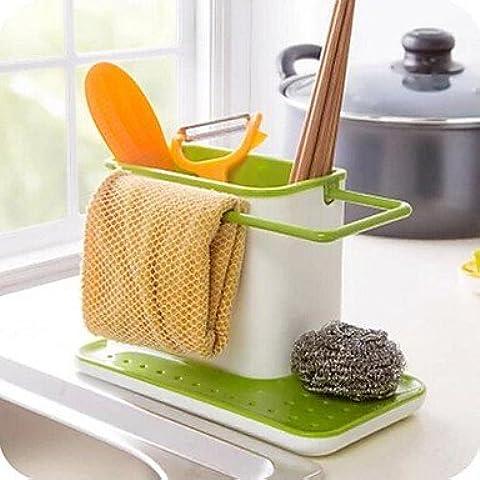 JSGN-Semplicemente titolari di plastica bacchette Cucina bagagli (colori