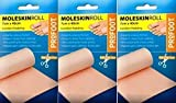 Profoot Moleskin Roll 7cm x 40cm x 3 Packs