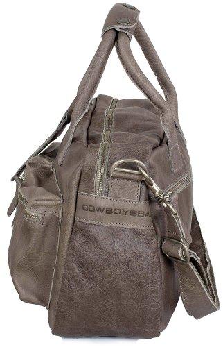 Cowboysbag The Bag Small 1118 Unisex-Erwachsene Henkeltaschen 38x23x14 cm (B x H x T) Grau
