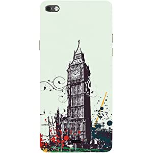 Casotec 2012 London Olympics Design 3D Printed Hard Back Case Cover for Micromax Canvas Sliver 5 Q450