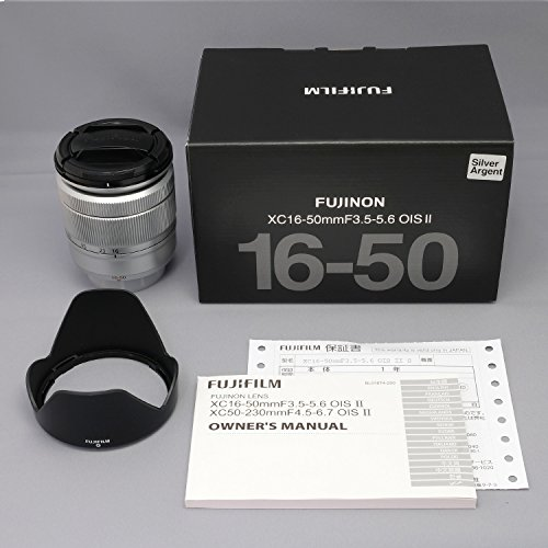 Top Fuji XC-16 – 50 mm f/3.5-5.6 OIS MK II Lens – Silver Special