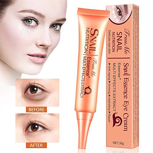 Augencreme, Anti Aging Creme, Anti Augenringe, Augenringe Creme, Schnecken-Reparatur-Creme,...