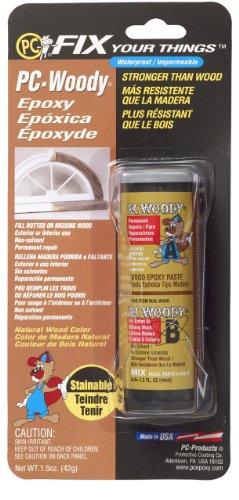 PC Produkte pc-woody zweiteilige Holz Repair Epoxy Paste, Tan, 1.5 oz, hautfarben, 1