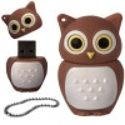 QUINTRA Cartoon Eule USB 2.0 Flash Speicher Memory Stick Speicher Thumb U Disk (4GB)