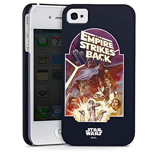 Apple iPhone X Silikon Hülle Case Schutzhülle Star Wars Merchandise Fanartikel The Empire Strikes Back Premium Case glänzend