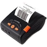 Portátil térmica recibo Impresora Bluetooth MUNBYN 58 mm Impresora para Android iPhone iPad y batería Recargable ESC/POS