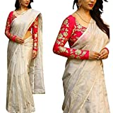 Saree World Silk Saree (__Free Size )