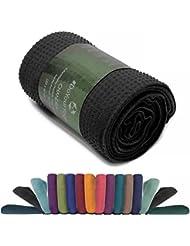 MARCA DE CALIDAD: la toalla de yoga »Chandra« es un producto de marca de alta calidad de #DoYourYoga. Fabricada con un material resistente y respetuoso con la piel, acabados de gran calidad. Ideal para muchos estilos de yoga de alta intensidad o, simplemente, para cubrir la esterilla de yoga.