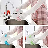 Rachees Gloves for Kitchen Dish Washing Laundry Cleaning Gardening