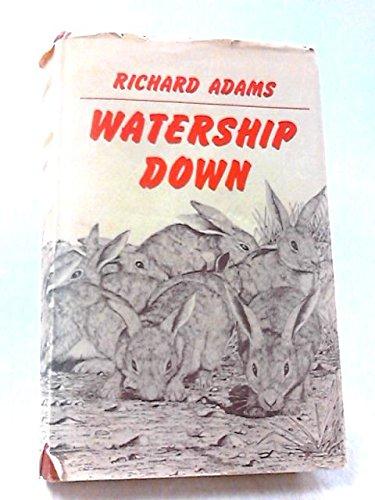 Portada del libro Watership Down