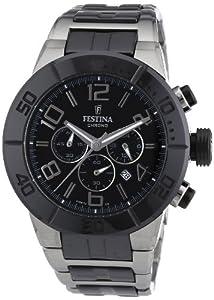 Reloj Festina F16576/2 de cuarzo unisex con correa de acero inoxidable, color multicolor de Festina