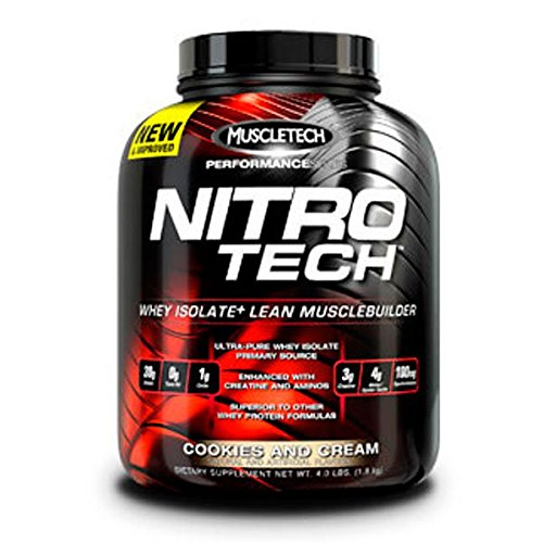 Muscletech Nitro-Tech Performance Series - 1,8 kg Vanilla - 51DHoMGTG3L