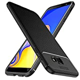 iBetter Samsung Galaxy J4+ Funda Suave y Duradera, Funda de TPU. Funda para Smartphone Samsung Galaxy J4 Plus 2018.Negro