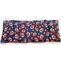 Wärmekissen Körnerkissen Getreidekissen 50x20cm Motiv Erdbeeren