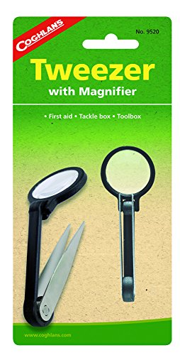 Coghlan's Couteaux et outils CL Pincette/Loupe #9520 Black