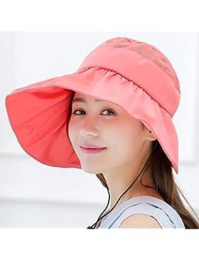 Rosa Visera, Sombrero De Sol, Sombrero De Sol Al Aire Libre, Ajustable,Yuca Rojo