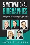 5 Motivational Biographies: Jocko Willink, Tony Robbins, Gary Vaynerchuk, Richard Branson, and Mark Cuban