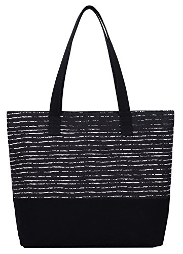 DCCN Canvas Shopper Bag Damen Canvas Handtaschen Tote Bag (Tote Bag Shopper)