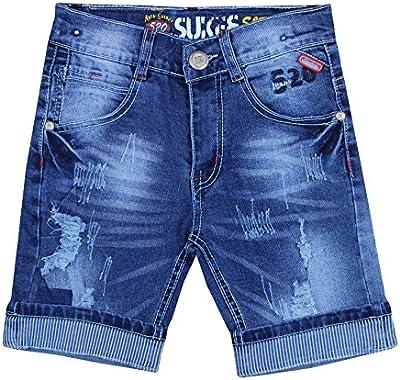 Niño Pantalones cortos, Verano, vaqueros Azul