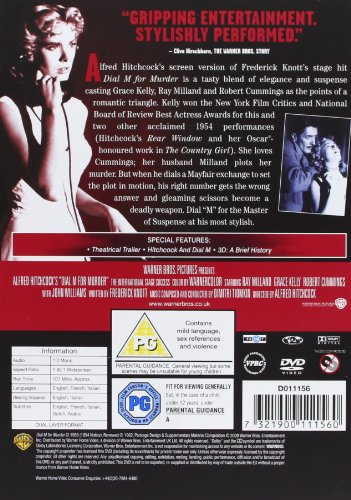 Dial M for Murder  1954   DVD