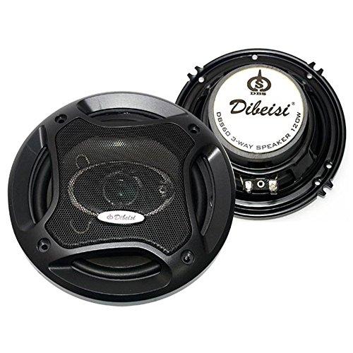 Dibeisi DBS60 3-Wege Lautsprecher Autolautsprecher Auto 16cm 120W KFZ
