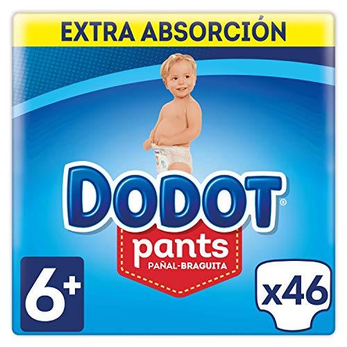Dodot Pants Pañales Talla 6+ (16 kg+) - 46 Pañales