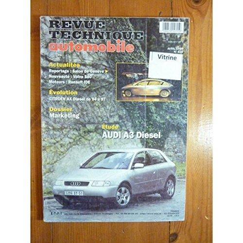 RTA0616 - REVUE TECHNIQUE AUTOMOBILE AUDI A3 Diesel
