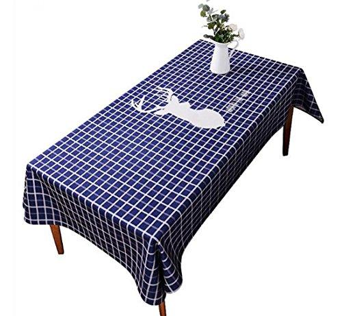 DZYZ Toile de coton en coton résistant à la tache Taille assortie , 110*170cm , blue