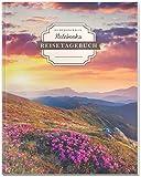 DÉKOKIND Reisetagebuch zum Selberschreiben | DIN A4, 100+ Seiten, Register, Vintage Softcover | Auch als Abschiedsgesch
