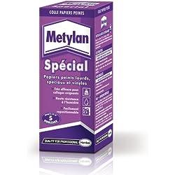Metylan - 157167 - Colle renforcee - Papiers Peints lourds - Speciaux et vinyls - Paquet 200 g