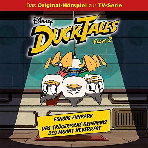 Folge 2: Fonsos Funpark / Das trügerische Geheimnis des Mount Neverrest (Hörspiel)