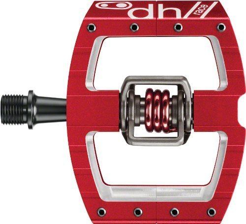 Crankbrothers Mallet DH Pedals Red 2014 by Crank Brothers -