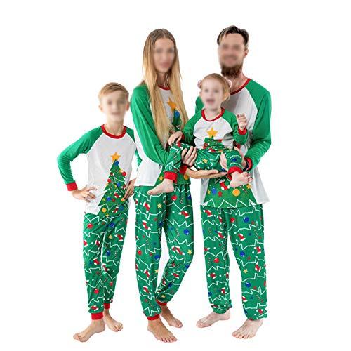 TLLW Pijama de Navidad para la Familia