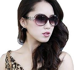 Ziory 1 pc Brown Cat Eye Women Eyewear Sunglasses Super Round Circle Cat Eye Women Sunglasses Classic Fashion Style Designer Oversized Sunglasses for Girls and Women