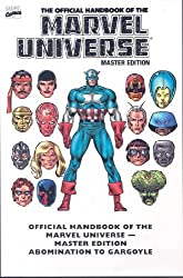 Essential Official Handbook of the Marvel Universe - Master Edition Volume 1 by Len Kaminski (2008-04-09)