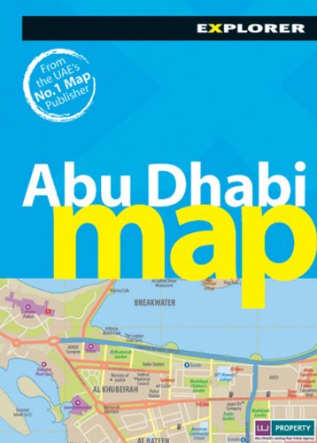 Abu Dhabi Mini Map Explorer (Mini Maps) por Explorer Publishing and Distribution