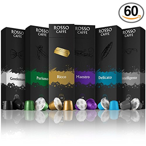 Choose Nespresso Compatible Coffee Pods Capsules by Rosso Caffe