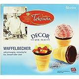 Waffel-Becher mit kakaohaltiger Fettglasur, 1er Pack (1 x 230 g)