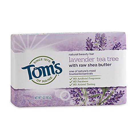 Tom's of Maine - Natural Beauty Bar Soap Lavender Tea Tree - 5 oz.