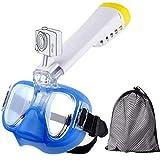 NOTENS Tauchmaske, Anti-Fog-Tauchmaske Tauchmaske Schwimm Training Scuba Panorama Ansicht mit Einem...