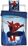 Spiderman Marvel - Parure da Letto, Copripiumino
