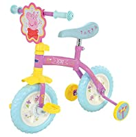 Peppa Pig 10-inch 2-in-1 Training Bike