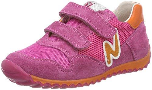 Naturino Mädchen Sammy. Hohe Sneaker, Mehrfarbig (Fuxia-Arancio), 32 EU