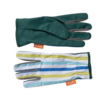 Gant Easy Grip M. Str coton., picots PVC BL, blanc