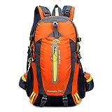 OHREX 40L impermeabile Sport Escursionismo Daypack/zaino di campeggio/ Daypack Viaggi/casual zaino per l'arrampicata all'aperto Scuola (Orange) - OHREX - amazon.it