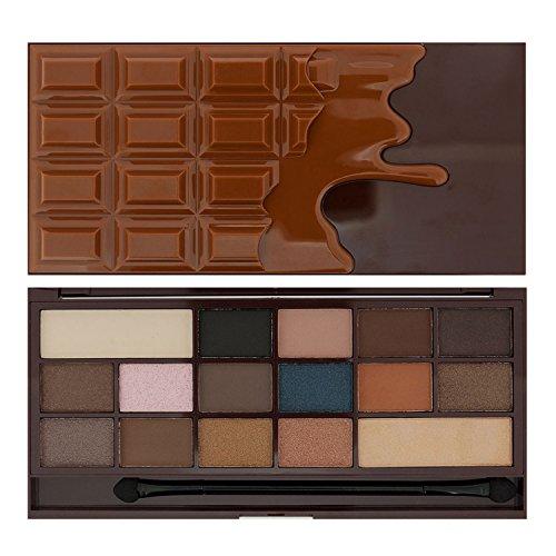 Makeup Revolution Eyeshadow Palette.I Heart Chocolate Salted Caramel