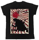 Godzilla Poster Cooler Spruch, Slogan, lustiges Design, Geschenkidee