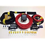 4mtr Leisure Battery Split Charging system with 12V 100amp Heavy Duty relay