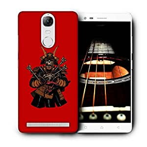 Snoogg Warrior Skeleton Designer Protective Back Case Cover For LENOVO K5 VIBE