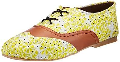 Kanvas Katha Women's Multicolor Sneakers - 6 UK/India (39 EU)(KKFTOXD00506) White